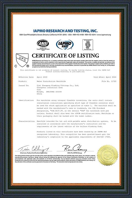 Certificate-11720