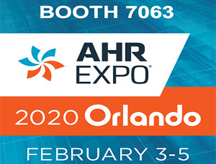 2020 AHR EXPO- BOOTH 7063